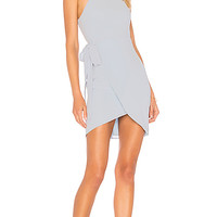 by the way. Morgan Layered Mini Dress in Light Blue