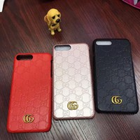 The GUCCI iPhone Phone Cover Case For iphone 6 6s 6plus 7 7plus
