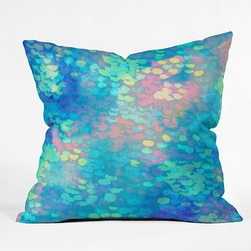 Rebecca Allen Rainmaker Throw Pillow