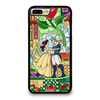 BEAUTY AND THE BEAST Disney iPhone 4/4S 5/5S/SE 5C 6/6S 7 8 Plus X Case