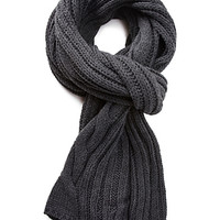 FOREVER 21 Cable Knit Scarf