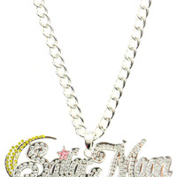 SAILOR MOON BLING NECKLACE