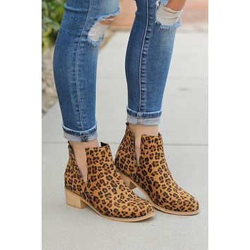 Corky's Shield Bootie in Leopard