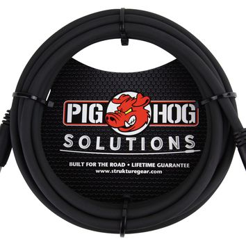 "Pig Hog PX-35T4M 3.5mm Stereo to 1/4"" Mono Cable"