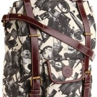Sydney Love Going Places Backpack,Sand,One Size