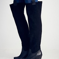 Sixty Seven + Free People Womens Staircase Suede Tall Boot