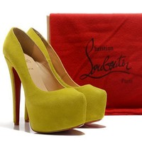 CL Christian Louboutin Fashion Heels Shoes-14