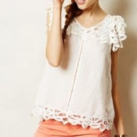 Fluttered Lace Tank by Holding Horses