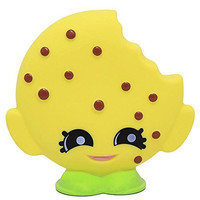 Shopkins Kooky Cookie Coin Bank - Chocolate Chip Molded Piggy Bank