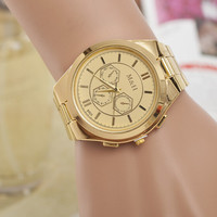 Comfortable Vintage Fashion Quartz Classic Watch Round Ladies Women Men wristwatch On Sales = 4661752260