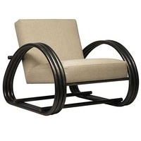 Noir Thor Chair w/ Metal Frame | New Furniture | What's New! | Candelabra, Inc.