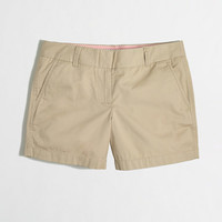 "Factory 5"" chino short - Shorts - FactoryWomen's New Arrivals - J.Crew Factory"