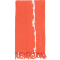 Turkish-T - Tie-Dye Beach Towel | Mandarin