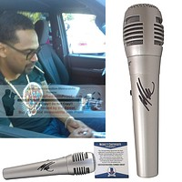 Mike Epps Signed Pyle Microphone, Comedian, Proof, Beckett
