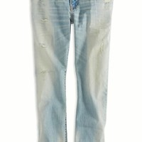 AEO Men's Slim Straight Jean (Light Bleach)