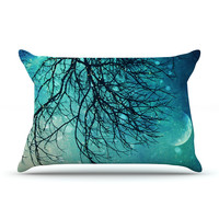 "Sylvia Cook ""Winter Moon"" Pillow Sham"
