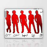 One Direction Silhouettes and Signatures Laptop & iPad Skin by Toni Miller | Society6