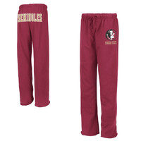 Florida State Seminoles :FSU: Ladies Valley Pants - Garnet