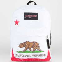Jansport Superbreak Ca Bear Backpack California One Size For Men 21502395701