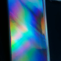 Silver Holographic iPhone 5 case cover iPhone 5s case rainbow shiny