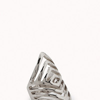 Cutout Geo Knuckle Ring