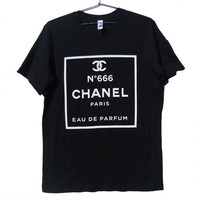 Luxury brand PARODY - No. 666 T-Shirt (ATTN: notate SIZE during checkout)