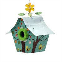 Rossos International Four Seasons Retro Chic Birdhouse (Discontinued by Manufacturer)