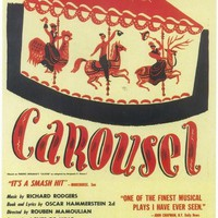 Carousel 11x17 Broadway Show Poster (1945)