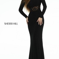 Long Sleeve Formal Gown by Sherri Hill