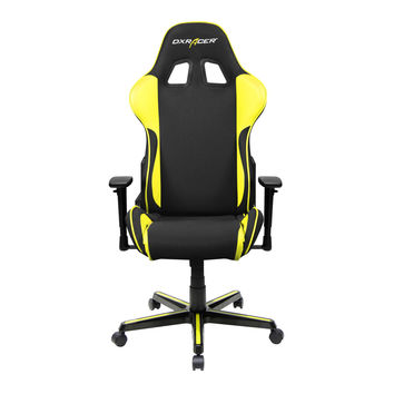 DXRACER FH11NY pyramat computer gaming chair adjustable system-Black and Yellow