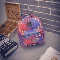 Back To School Hot Deal College On Sale Comfort Travel Bags Stylish Korean Handcrafts Casual Backpack [6582642247]