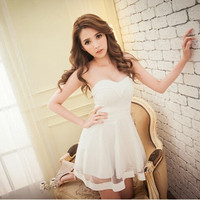 Sexy Women Summer Sleeveless Bandage Bodycon Party Evening Cocktail Short Mini Dress B8 = 1946977796