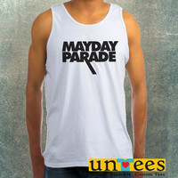 Mayday Parade Logo Clothing Tank Top For Mens