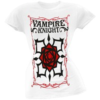Vampire Knight - Rose Logo Juniors T-Shirt