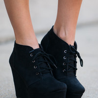 The Faye Bootie, Black