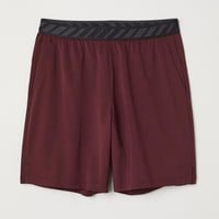 Short Sports Shorts - Burgundy - Men | H&M US