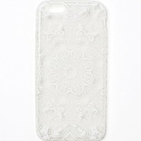 With Love From CA White Mandala iPhone 6 Case - Womens Scarves - White - NOSZ