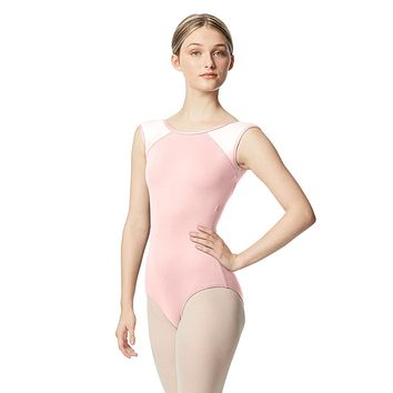 Lulli Women's Cap Sleeve  Leotard