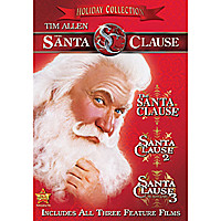The Santa Clause Holiday Collection DVD
