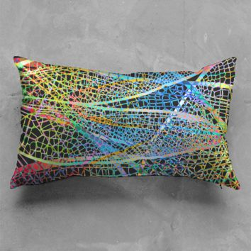 Dragonfly wings Pillow