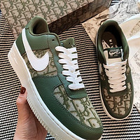 Nike Air Force 1 X Dior Women Men Sneakers Classic Shoes