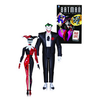 Batman TAS Mad Love Joker and Harley Quinn Figure 2-Pack - DC Collectibles - Batman - Action Figures at Entertainment Earth