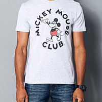 Mickey Mouse Club Tee Heather Grey