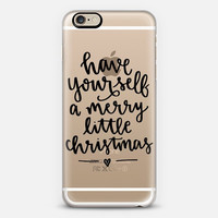 Holiday iPhone Case // Hand Lettering // Merry Little Christmas