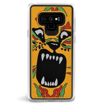 Tiger Embroidered Samsung Galaxy Note 9 Case