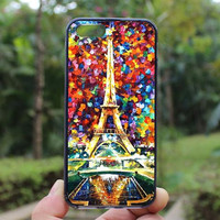 Colorful Eiffel Tower Case,iphone 5s case,iphone 4 case,iPhone4s case, iphone 5 case,iphone 5c case,Gift,Personalized,water proof