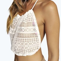 Aimee 90S Lace Crop