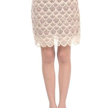 Skirt - Mermaid Gala Seashell Crochet Overlay Skirt