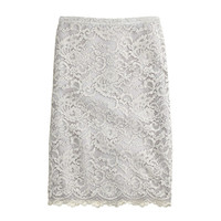 J.Crew Womens Collection Lace Pencil Skirt