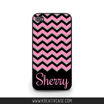 Personalized Galaxy s4 Case, Galaxy s5 Case,Samsung S4 Case, Galaxy S5,Chevron Phone Case, Personalized iPhone Cover K320